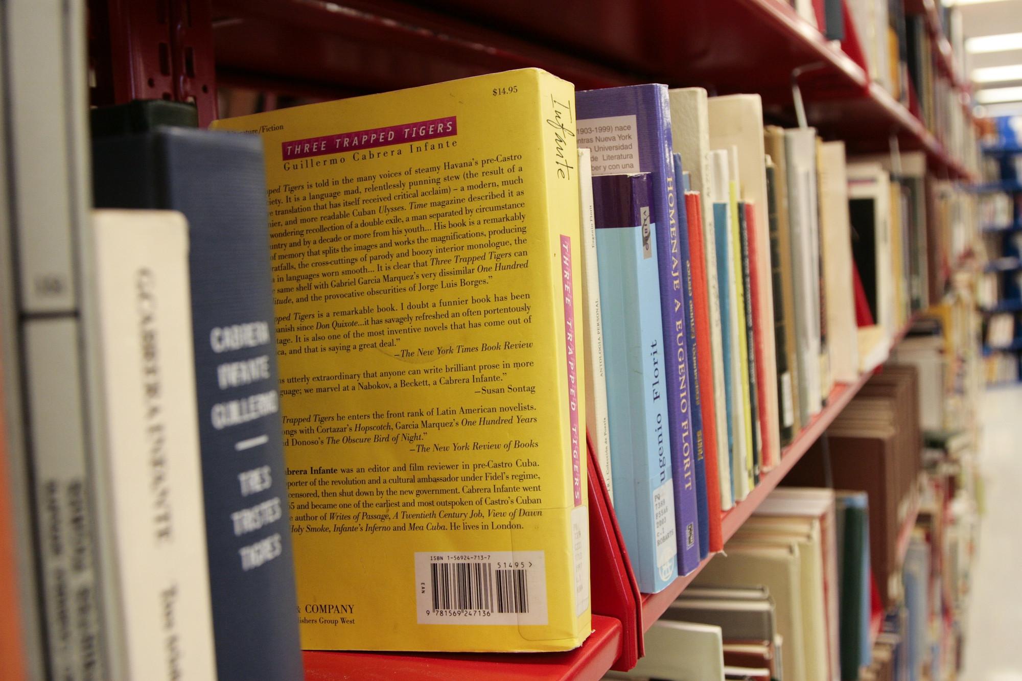 Robarts Library book stacks
