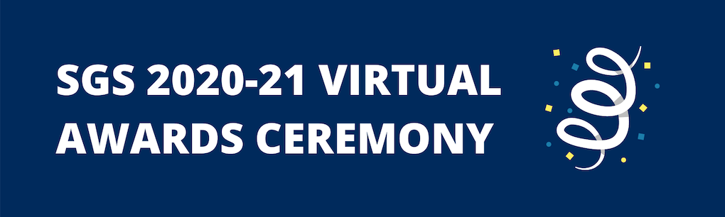 SGS Virtual Awards Ceremony April 22